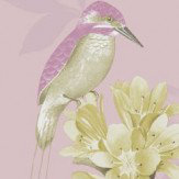Holden Decor Kingfisher Dusky Pink Wallpaper