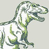 Albany Dotty Dinosaurs Green Wallpaper