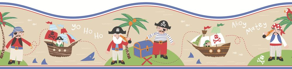 Albany Pirates Border Sand - Product code: FDB50114
