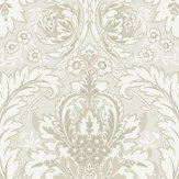 Cole & Son Coleridge White Wallpaper