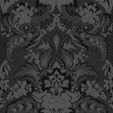Cole & Son Aldwych Charcoal Wallpaper