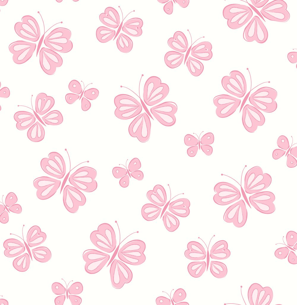 Albany Butterflies Pink Wallpaper - Product code: SZ002129