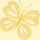 Albany Butterflies Honey Wallpaper - Product code: SZ002131