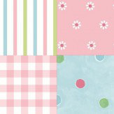 Albany Patchwork Pink Wallpaper - Product code: SZ002135