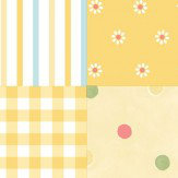 Albany Patchwork Honey Wallpaper - Product code: SZ002137