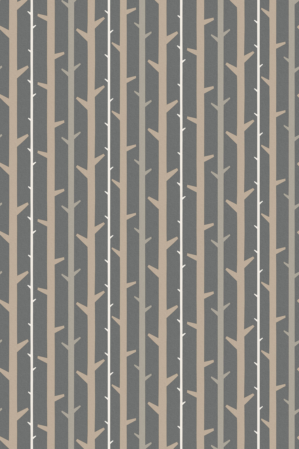 Timber By Natasha Marshall Pewter Wallpaper Direct