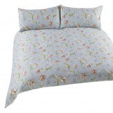 iliv Botanica Tulipa Single Duvet Duck Egg Duvet Cover