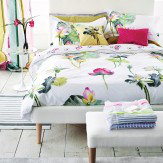 Designers Guild Nymphaea Single Duvet Peony Duvet Cover