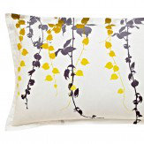 Clarissa Hulse Boston Ivy Oxford Pillowcase Sulphur