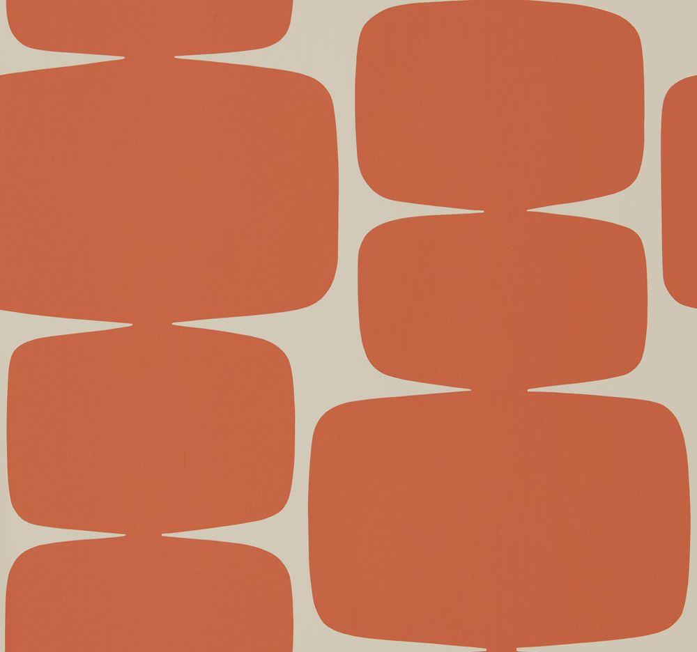 Scion Lohko  Paprika Wallpaper - Product code: 111295