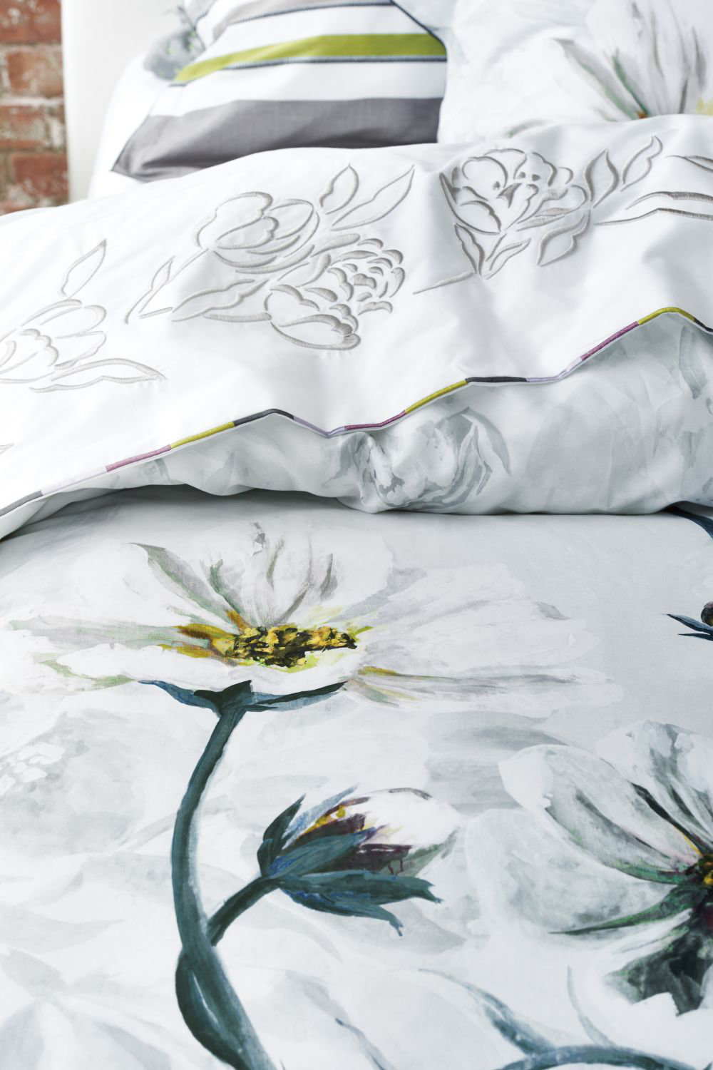Designers Guild Pomander Single Duvet Dove Duvet Cover extra image
