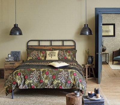 Image of Morris Duvet covers Seaweed Single Duvet, 021005