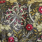 Morris Seaweed King Size Duvet Black Duvet Cover