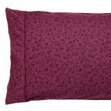 Morris Pimpernel Housewife Pillowcase Aubergine