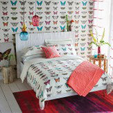 Harlequin Papilio Single Duvet Flamingo Duvet Cover