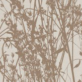 Sanderson Meadow Canvas Gilver / Linen Wallpaper