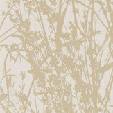 Sanderson Meadow Canvas Wheat / Cream Wallpaper