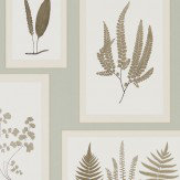 Sanderson Fern Gallery Blue Wallpaper