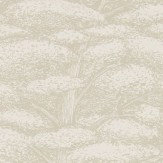 Sanderson Woodland Toile Ivory and Neutral Wallpaper