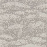 Sanderson Woodland Toile Linen and Gilver Wallpaper