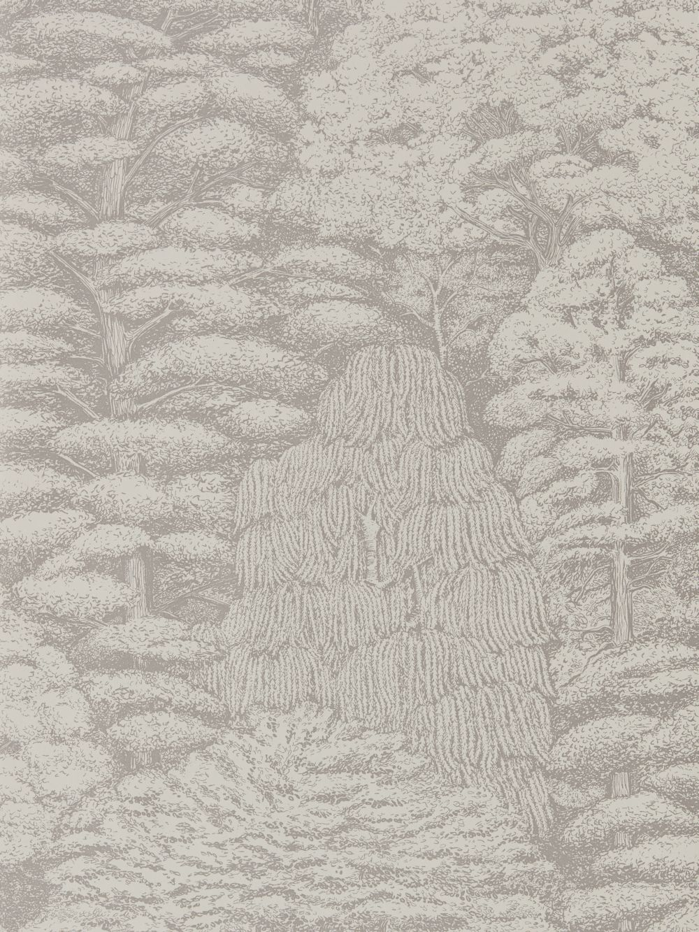 Woodland Toile By Sanderson Linen And Gilver Wallpaper