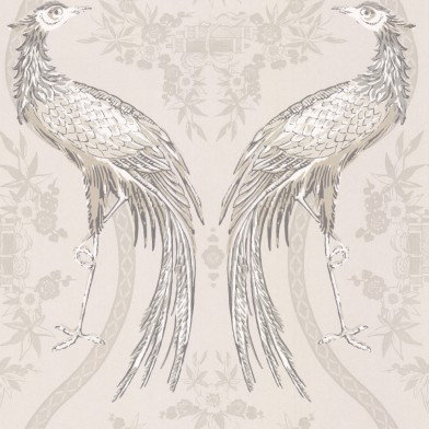 Image of Wedgwood Home Wallpapers Fabled Crane, Fabled Crane 1