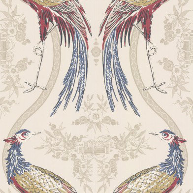 Image of Wedgwood Home Wallpapers Fabled Crane, Fabled Crane 4
