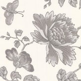 Wedgwood Home Fabled Floral Grey Wallpaper