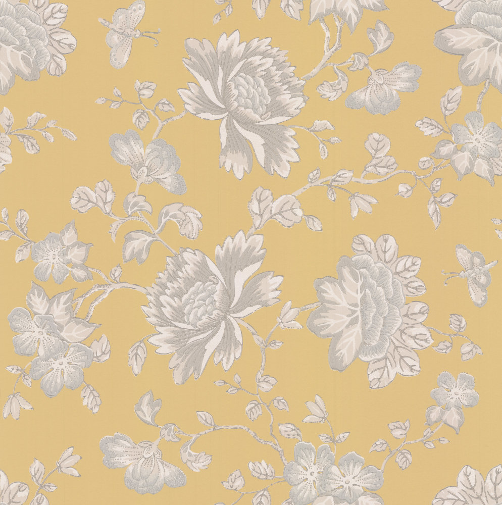 Wedgwood Home Fabled Floral Yellow  Wallpaper main image