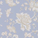 Wedgwood Home Fabled Floral Blue  Wallpaper