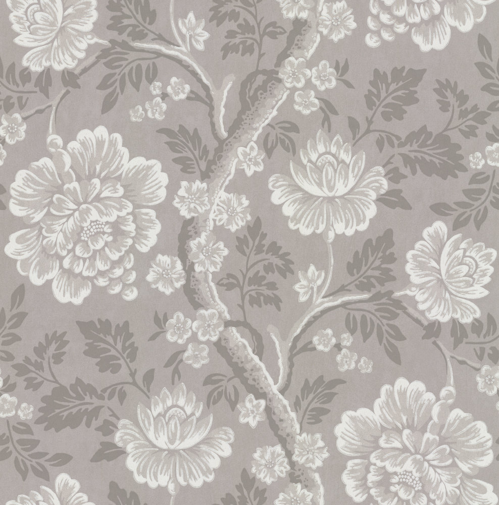 Little Greene Gustav Grey Wallpaper main image