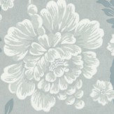 Little Greene Gustav Blue Wallpaper