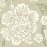 Little Greene Gustav Sage Green Wallpaper