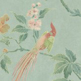 Little Greene Paradise Sage Green Wallpaper - Product code: 0247PAAQUAM