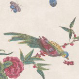 Little Greene Darwin Off White Wallpaper