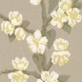 Little Greene Sakura Metal Wallpaper