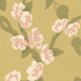 Little Greene Sakura Yellow Wallpaper