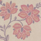 Little Greene Stitch Berry Wallpaper
