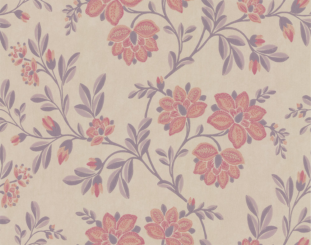 Little Greene Stitch Berry Wallpaper - Product code: 0247STBERRY