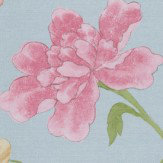 Little Greene China Rose China Blue Wallpaper