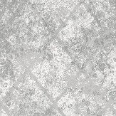 Albany Foil Diamond Grey Wallpaper