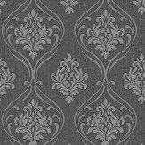 Albany Winchester Damask Charcoal Wallpaper
