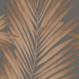 Arthouse Ardita Ebony & Copper Wallpaper