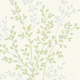 Albany Summer Blossom Green Wallpaper