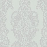 Albany Rochester Damask Duck Egg Wallpaper