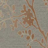 Arthouse Orabella  Copper  Wallpaper