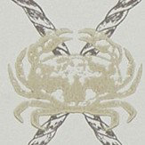 Barneby Gates Crab Gold / Charcoal Wallpaper - Product code: BG1300202