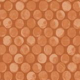 Albany Rubus Burnt Orange Wallpaper