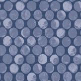 Albany Rubus Navy Wallpaper - Product code: 98506