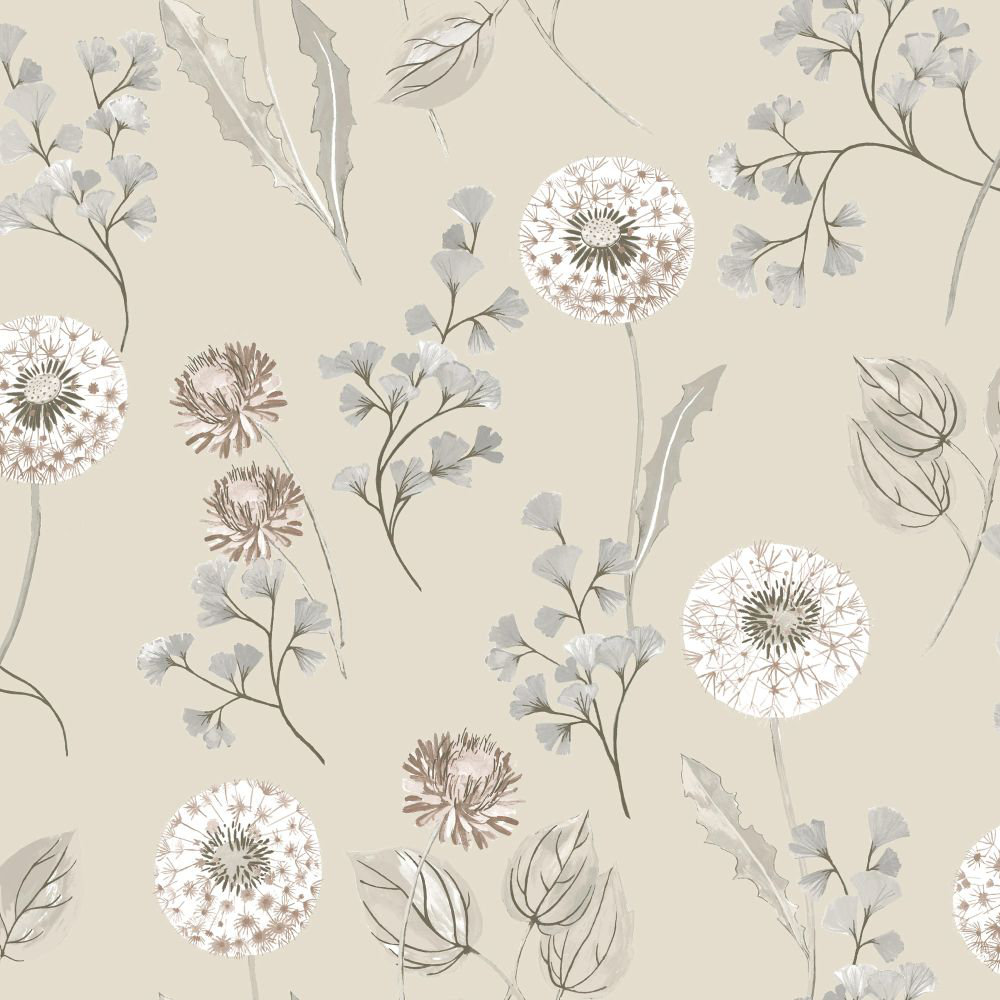 Albany Cassara Cream and Taupe Wallpaper - Product code: 98513